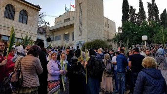 Иерусалим накануне Пасхи