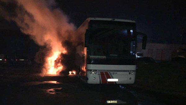 Во Львове подожгли польский автобус - депутат