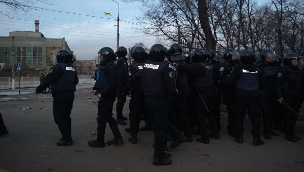 В Мариуполе фанаты Динамо подрались с полицией