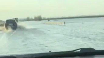 Затопленная трасса Киев - Харьков