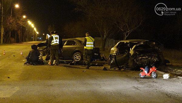 Смертельная авария в Мариуполе. Трое погибших
