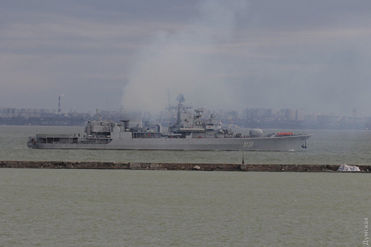 Турецкие корабли ушли из Одессы вместе с «Сагайдачным»