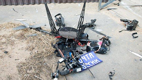 Испытательный полет дрона «Почты России»