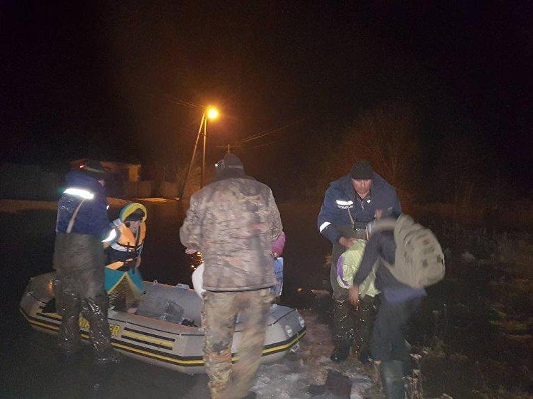 Наводнение в Полтавской области