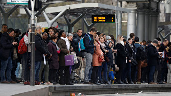 Массовый страйк во Франции