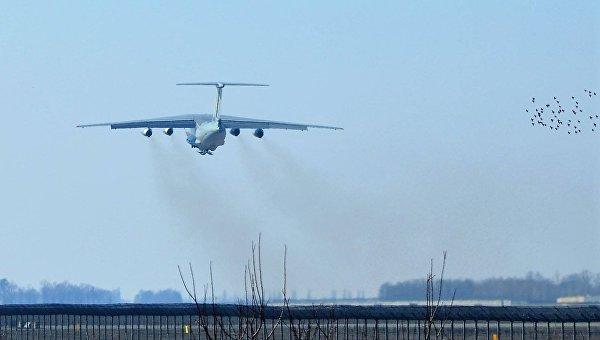 Самолет ВВС Украины Ил-76 доставит топливо в Гренландию