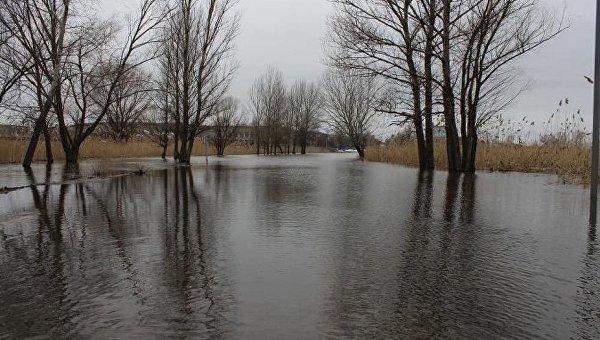 Паводок на Луганщине