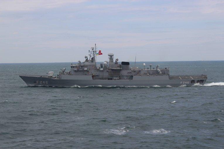 ВМС Украины и Турции провели совместную тренировку в Черном море