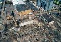 Завод Радикал в Киеве с высоты