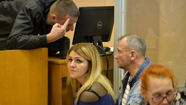 Заседание суда по избранию меры пресечения активисту Майдана Ивану Бубенчику, которого подозревают в убийстве двух беркутовцев в феврале 2014 года