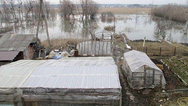 Разлив рек в Украине. Под Харьковом критическая ситуация