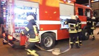 Учения столичных пожарных. Видео