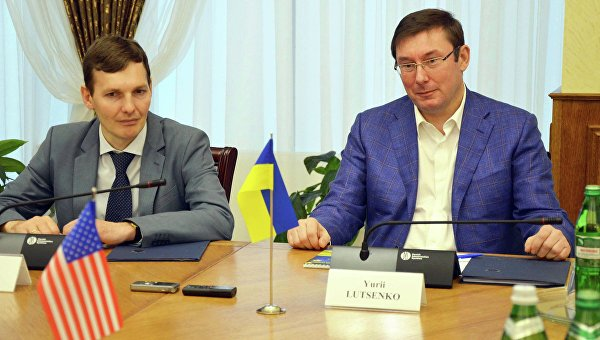 Встреча Юрия Луценко с конгрессменами США