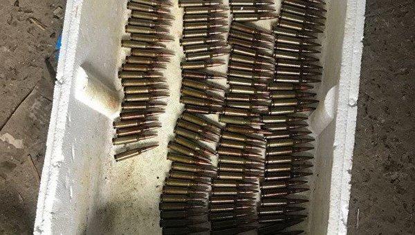 Оружие из АТО в Киевской области