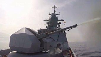 Новые корветы Балтфлота РФ показали на стрельбах свои возможности. Видео