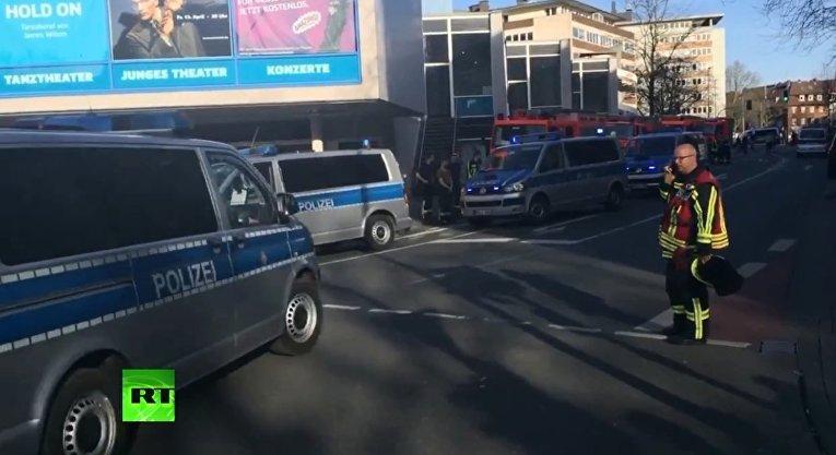 Место происшествия в Мюнстере