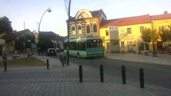 Польша. Автобус