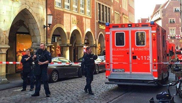Милиция отыскала автомат Калашникова вквартире совершившего наезд налюдей вМюнстере
