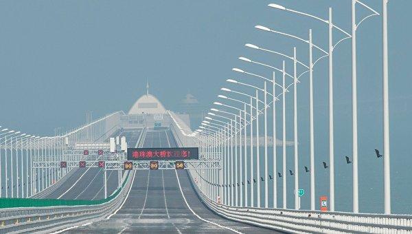 Самый длинный мост в мире - Гонконг - Чжухай - Макао