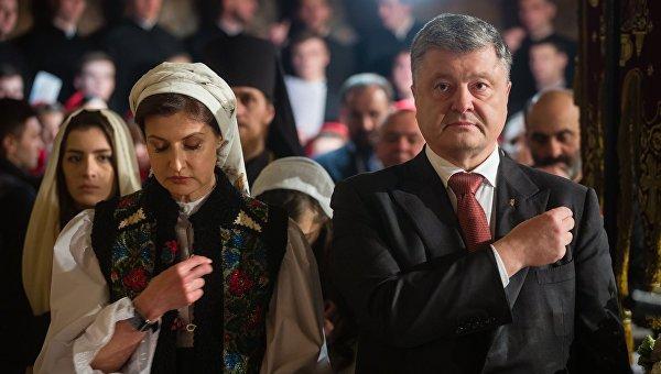 Как Петр Порошенко с семьей встречал Пасху