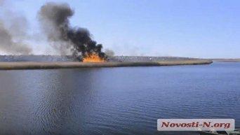 Вокруг Николаева пылают пожары