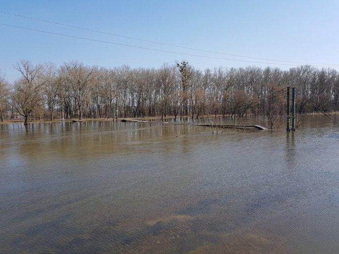 Самая большая река Харьковской области вышла из берегов