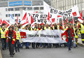 Забастовка работников аэропортов в Германии