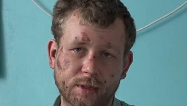 Мужчина, которого избил депутат вблизи Мариуполя