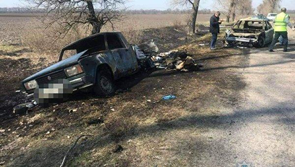 В Киевской области неизвестные напали на автомобиль Укрпочты