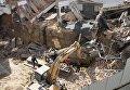 Спасение из-под завалов строителей в Виннице