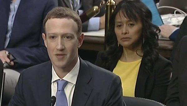 Выступление Марка Цукерберга в комитете сената США