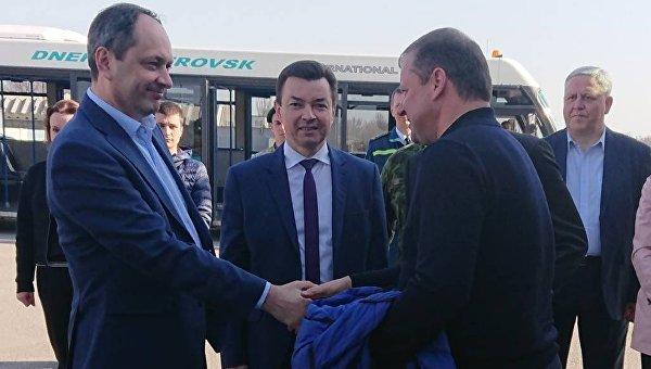 Премьер Литвы направился в Донбасс