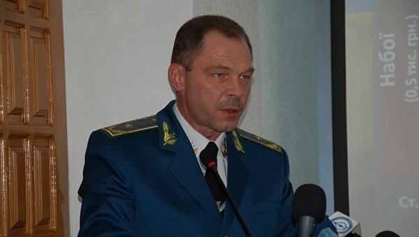 Бывший начальник Николаевской таможни Артур Поляков