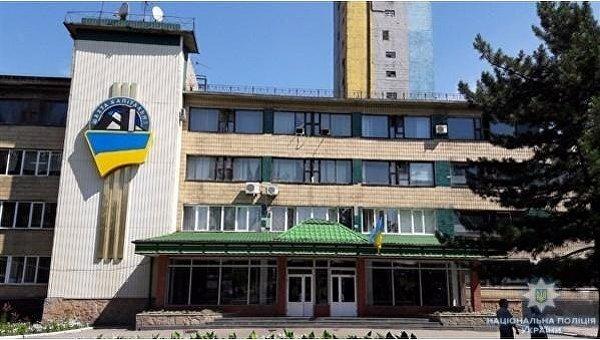 Шахта Капитальная в г. Мирноград Донецкой области