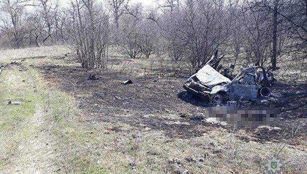 ВЛуганской области отыскали автомобиль стелами четырех пропавших мирных граждан