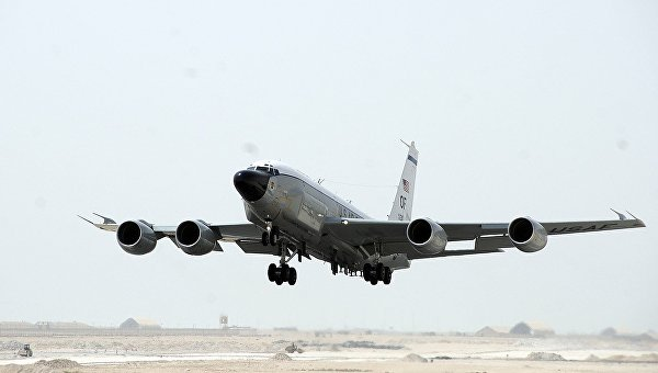 Американский самолет-шпион RS 135 V