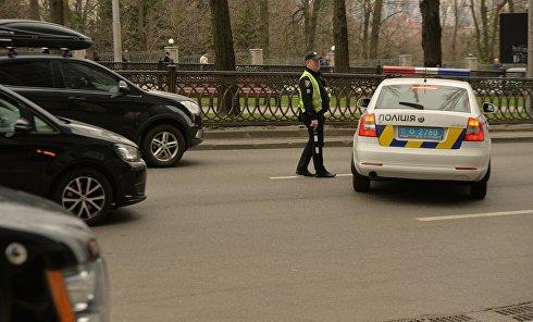 Полиция Киева. Архивное фото