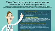 Мифы Супрун: чем глава Минздрава заслужила Шнобелевскую премию