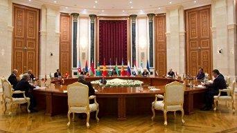 Заседание Совета глав государств-членов СНГ