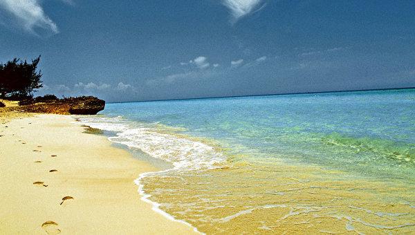 Берег Атлантического океана на кубинском курорте