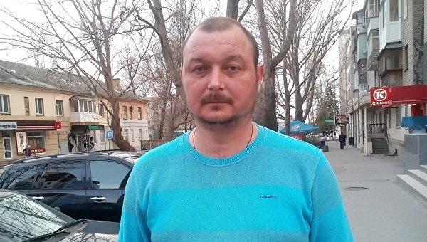 Капитан рыболовецкого сейнера Норд Владимир Горбенко