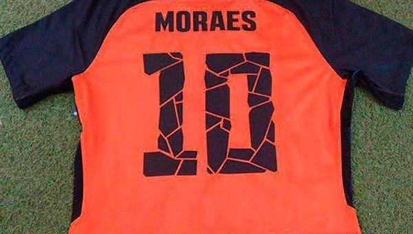 Новая футболка Мораеса