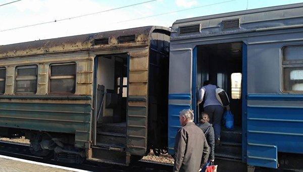 Страшный вагон Укрзализныци