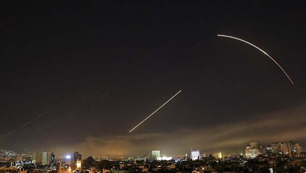 Удар США и союзников по Сирии