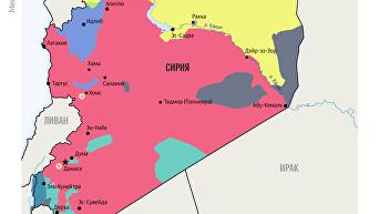Ракетные удары по Сирии. Инфографика