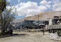 Последствия ракетного удара по Сирии. Архивное фото