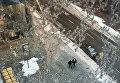 Ледяной дождь и снегопад в Торонто
