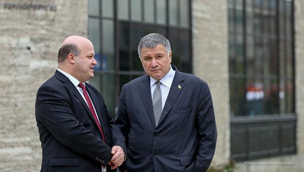 Министр внутренних дел Арсен Аваков в США