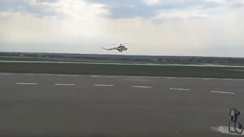 Новый украинский вертолет впервые поднялся в небо. Видео