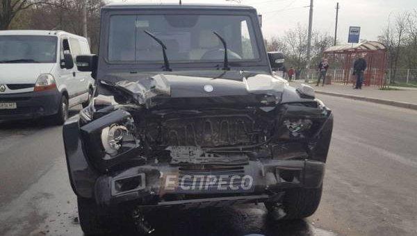 Инцидент с авто Медведчука